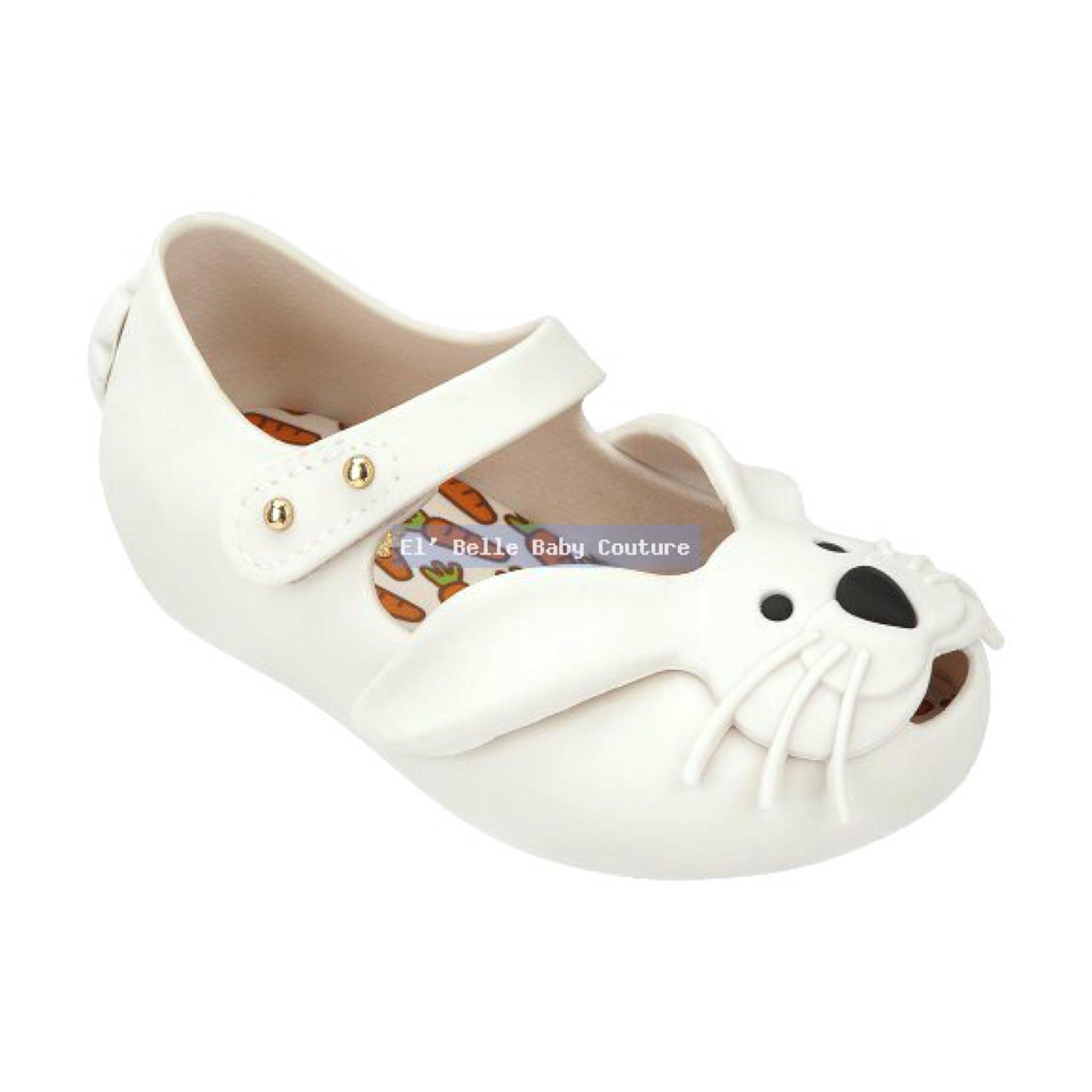 รองเท้ากระต่ายน้อยยอดฮิตสำหรับลูกสาว Mini Melissa Ultragirl Rabbit (Ivory White)