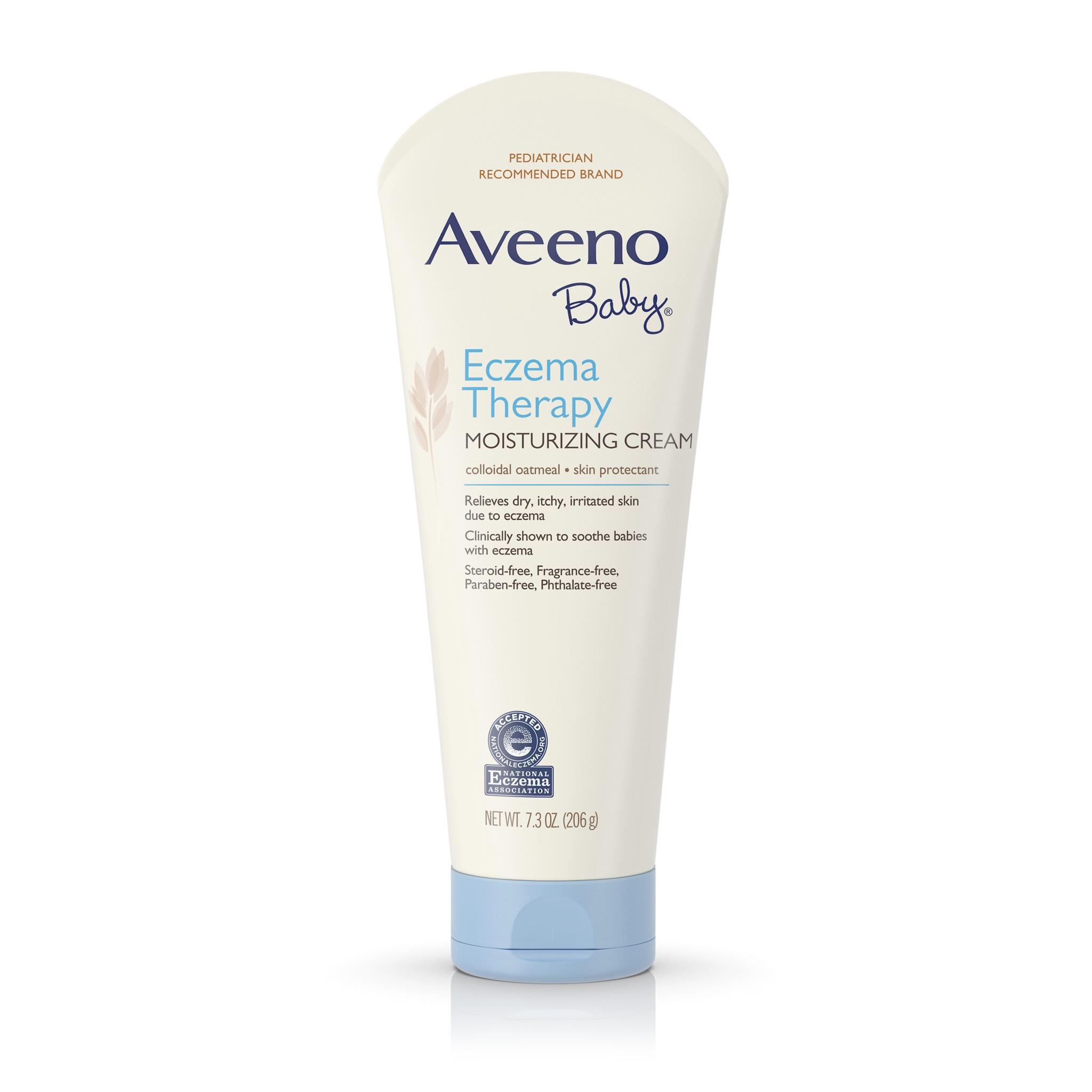 ครีมบำรุงผิวสำหรับทารกและเด็กเล็ก Aveeno Baby Eczema Therapy Moisturizing Cream