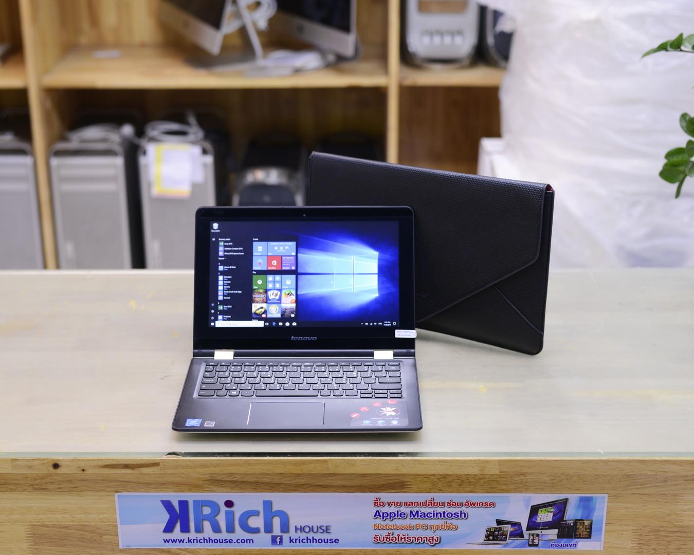 Lenovo Yoga 300-11IBR - Intel Pentium N3700 1.60-2.60GHz RAM 4GB HDD 500GB Windows 10 Home - Warranty On-site 09/08/2019