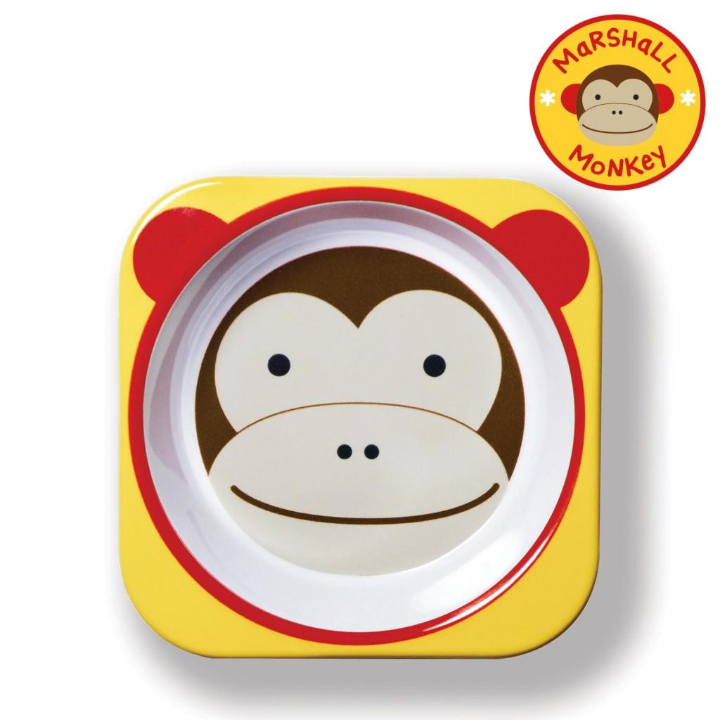 ชามอาหารสำหรับเด็ก Skip Hop รุ่น Zoo Bowls (Monkey)