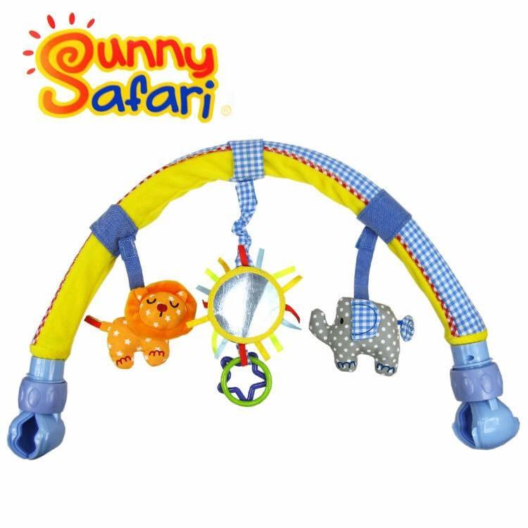 โมบายติดรถเข็น คาร์ซีท และเปลเด็ก Sozzy รุ่น Travel Arch - Sunny Safari