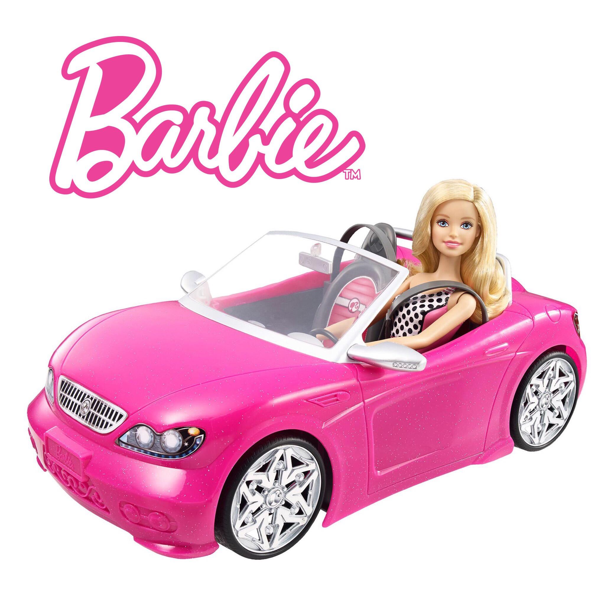 รถสปอร์ตสำหรับสาวสวยบาร์บี้ Barbie Glam Convertible
