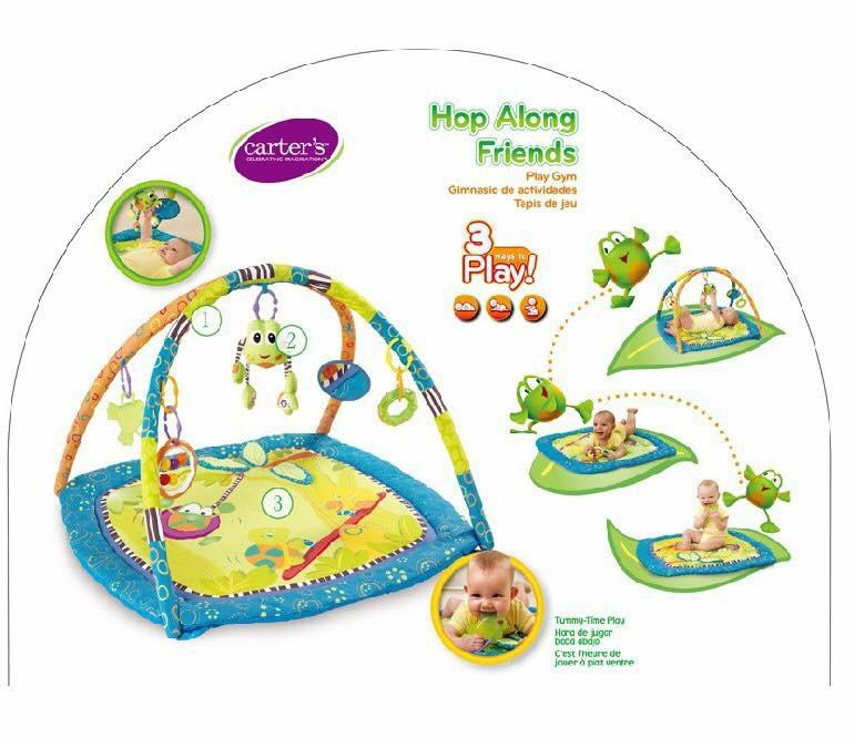เพลย์ยิมเสริมพัฒนาการ Carter's Hop Along Friends