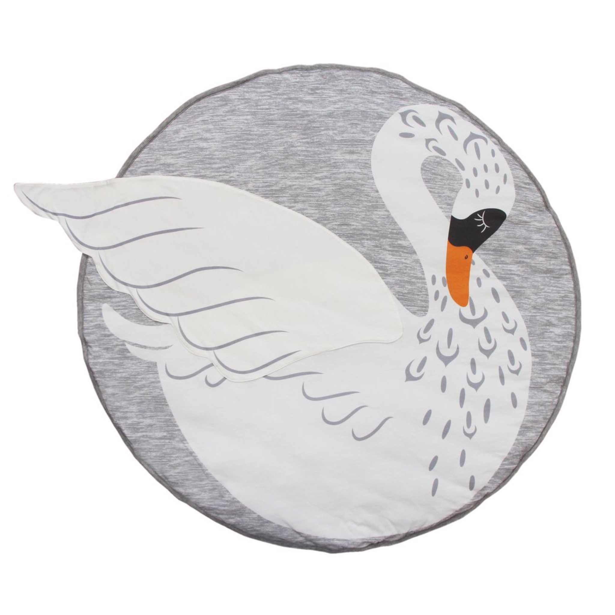 เบาะรองนอนสำหรับทารกและเด็กเล็ก Baby's Animal Playmat (Swan)