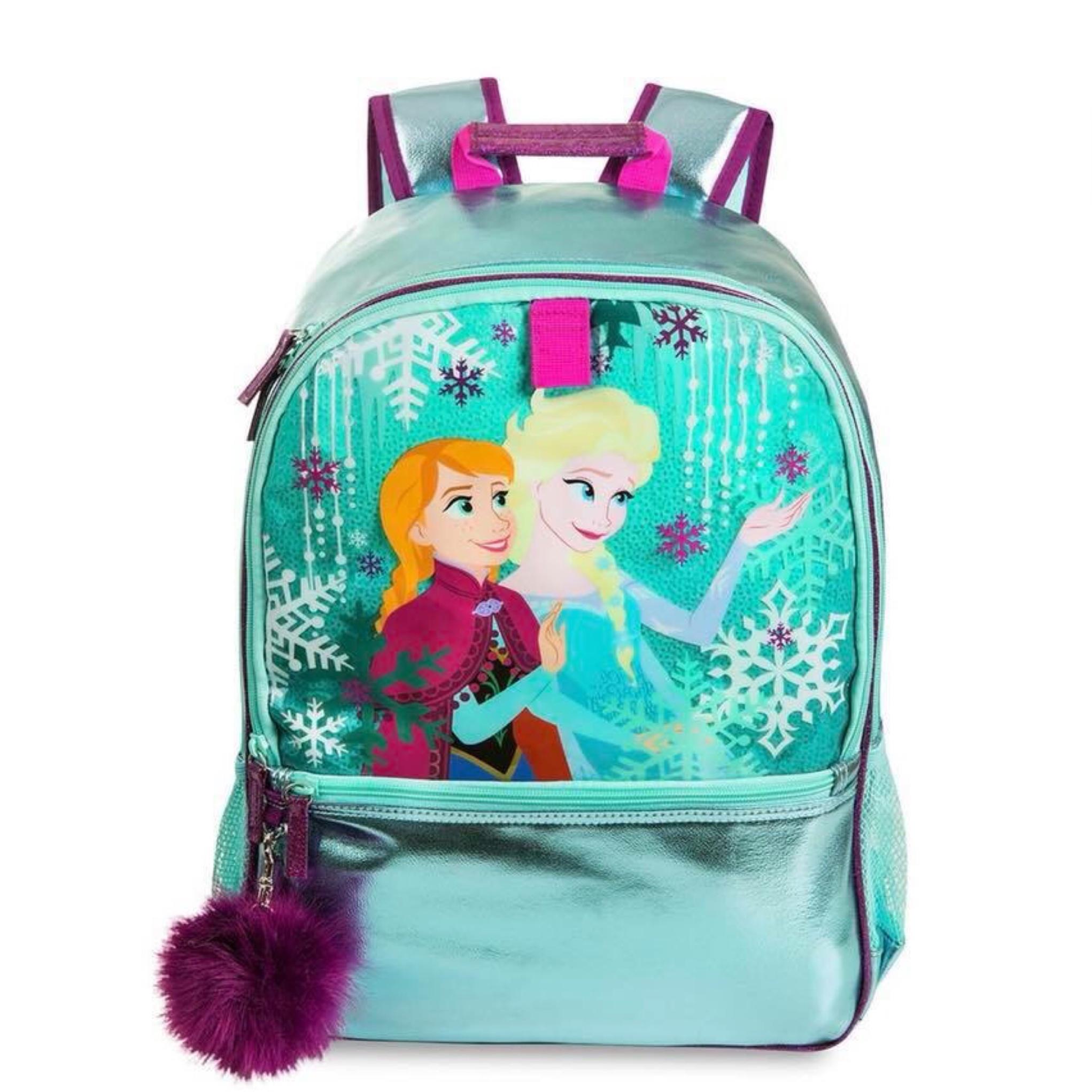 กระเป๋าเป้สะพายหลังสำหรับเด็ก Disney Backpack (Frozen Shiny)
