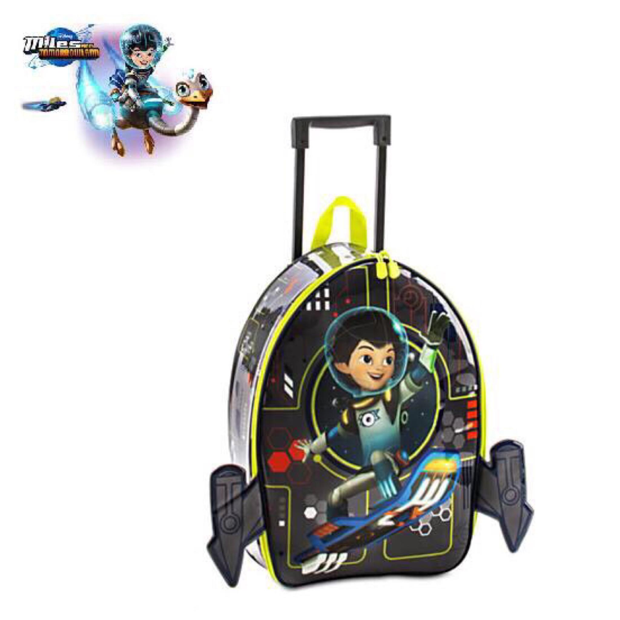 กระเป๋าเดินทางล้อลากพร้อมไฟกระพริบ Disney Light-Up Rolling Luggage (Miles from Tomorrowland)
