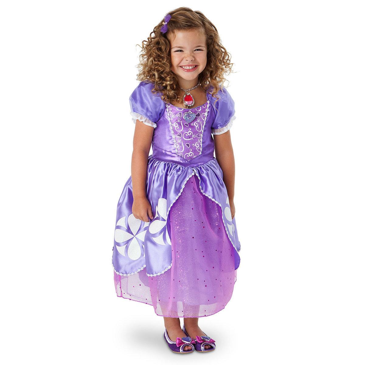 ชุดคอสตูมสำหรับเด็ก Disney Costume for Kids (Sofia the First)