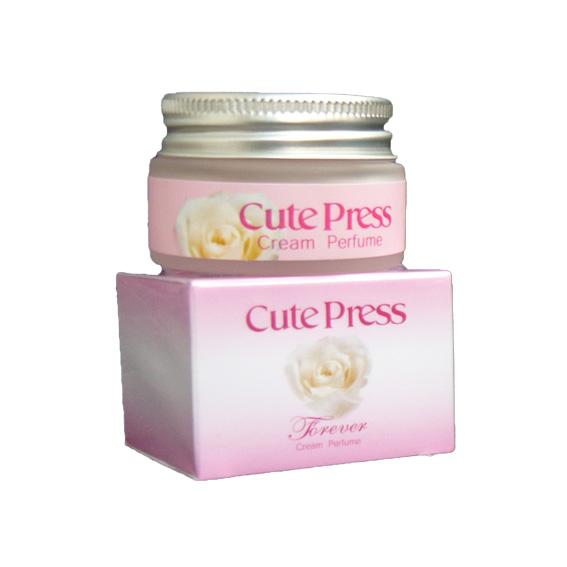 คิวเพรส ฟอร์เอเวอร์ ครีม เพอร์ฟูม Cute Press Forever Cream Perfume