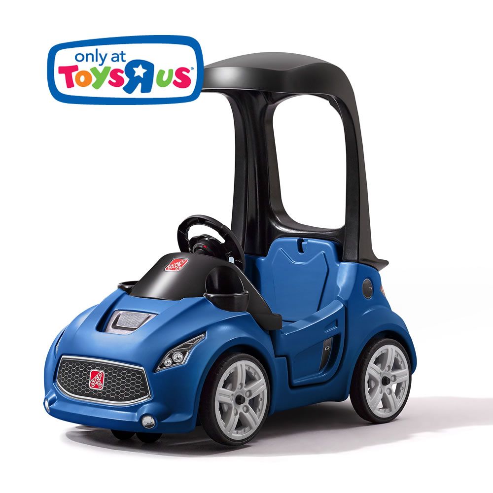 รถขาไถพร้อมหลังคามือจับ Step2 Turbo Coupe Foot-to-Floor (Blue)