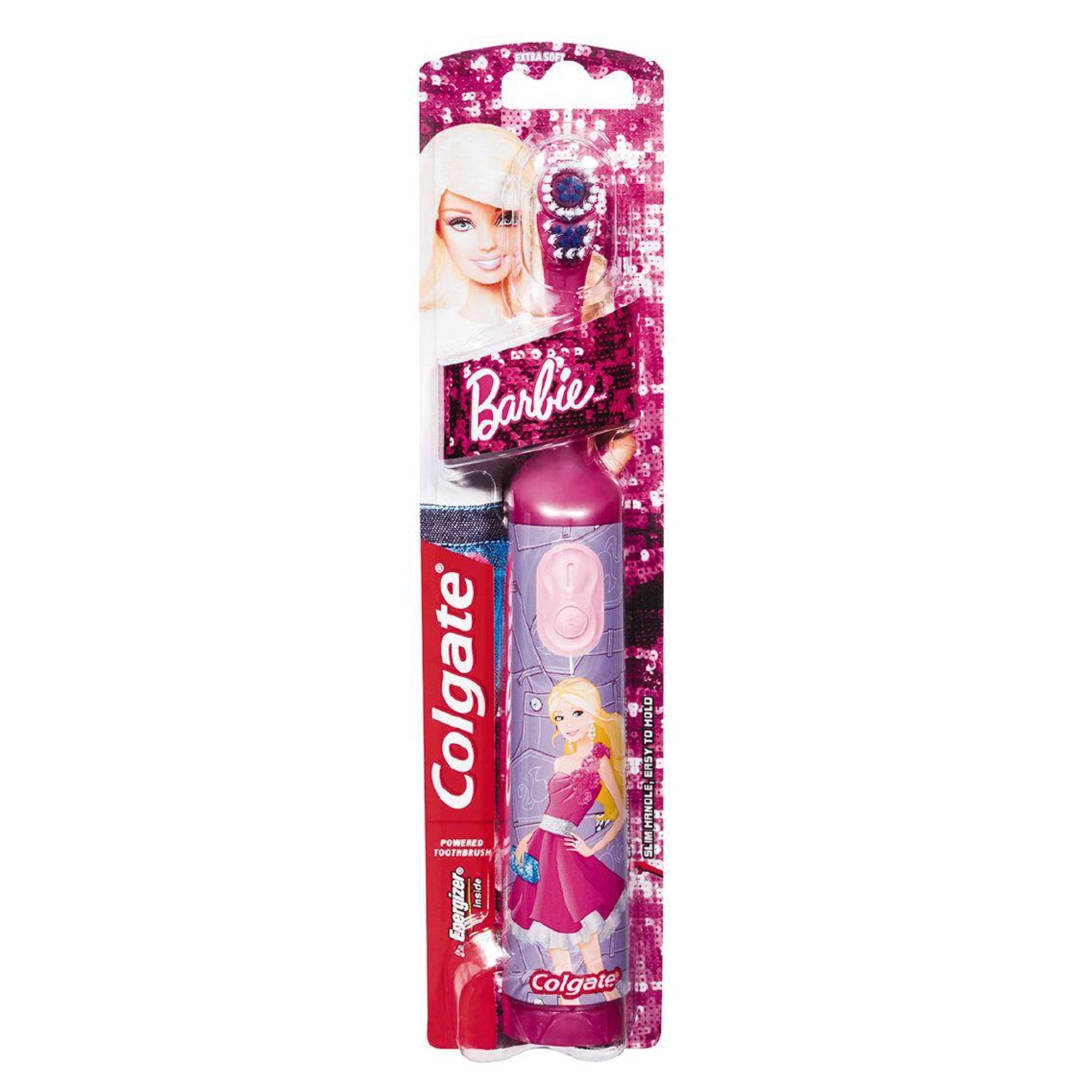 แปรงสีฟันอัตโนมัติสำหรับเด็ก Colgate Battery Powered Toothbrush (Barbie)