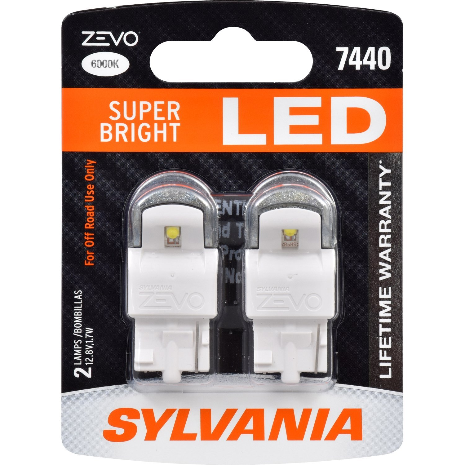 W21W Sylvania ZEVO Super Bright LED 6000K ส่งฟรี