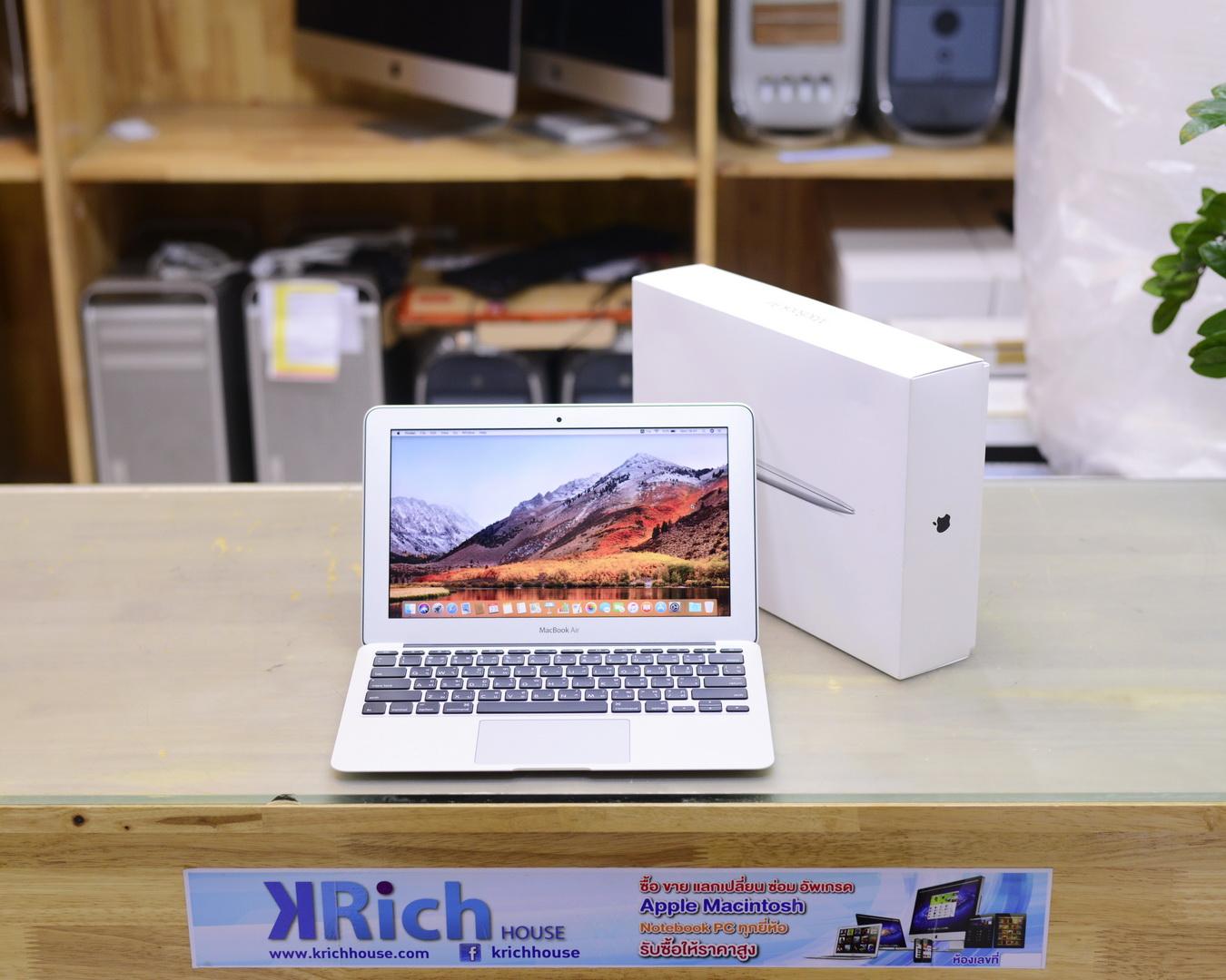 MacBook Air (11-inch, Early 2015) Core i5 1.6GHz RAM 4GB SSD 128GB - FullBox