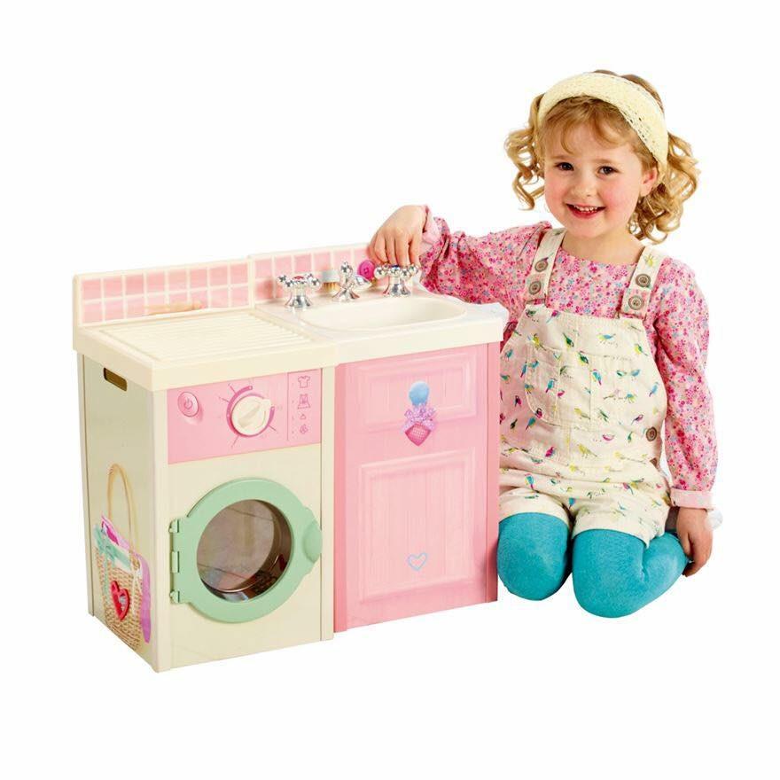 ชุดครัวอุปกรณ์เสริมบ้านจำลอง DreamTown Rose Petal Kitchen Set