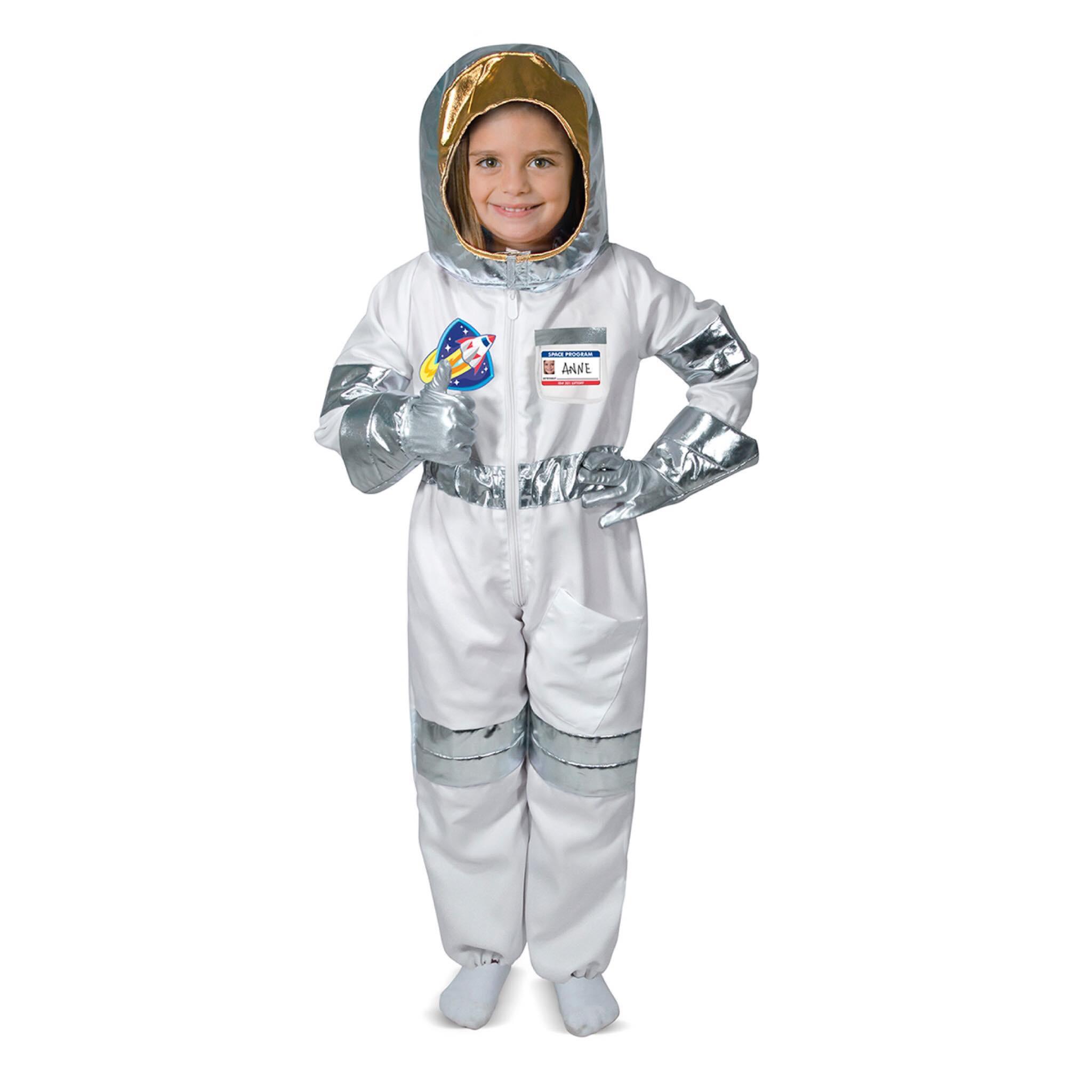 ชุดแฟนซีคอสตูมพร้อมอุปกรณ์สุดน่ารัก Melissa & Doug รุ่น Role Play Costume Set (Astronaut)