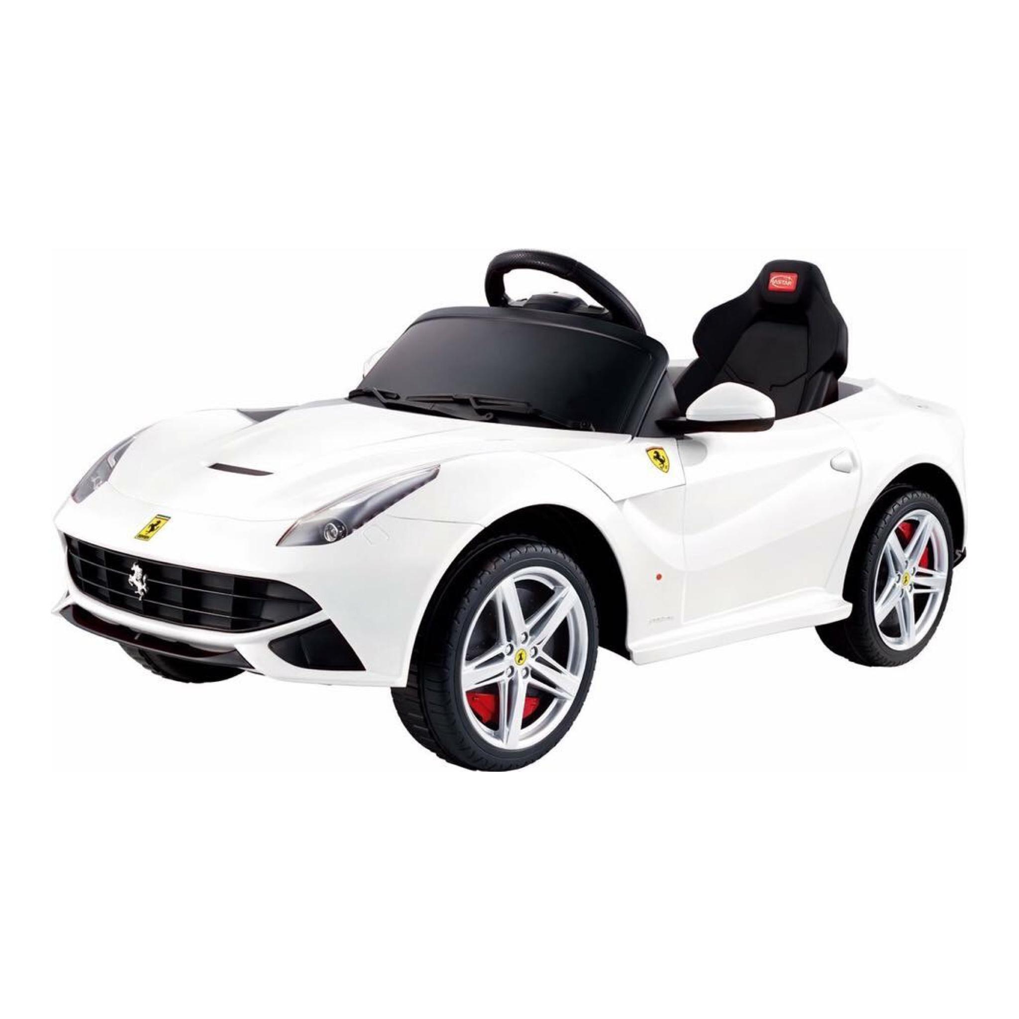 รถแบตเตอรี่พร้อมรีโมทบังคับวิทยุ Ferrari F12 Berlinetta Remote-Controlled 12V Battery-Powered Ride-On (Red)