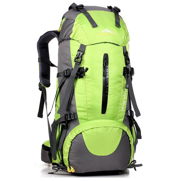 DF06 กระเป๋าเดินทาง สีเขียว ขนาดจุสัมภาระ 45+5 ลิตร