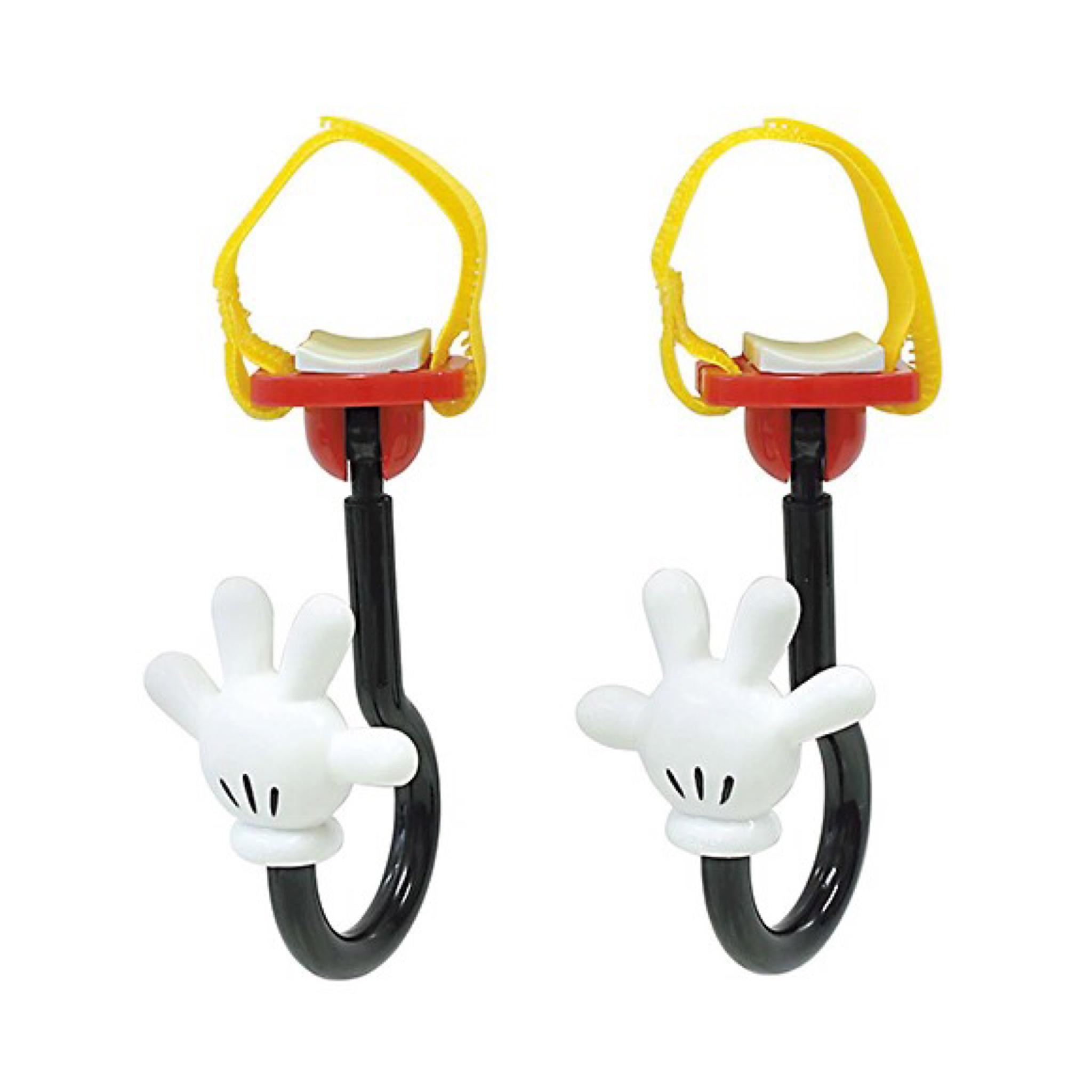 ตะขอแขวนสัมภาระเอนกประสงค์ Napolex 2-Pack Disney Baby Stroller Hook (Mickey Mouse)