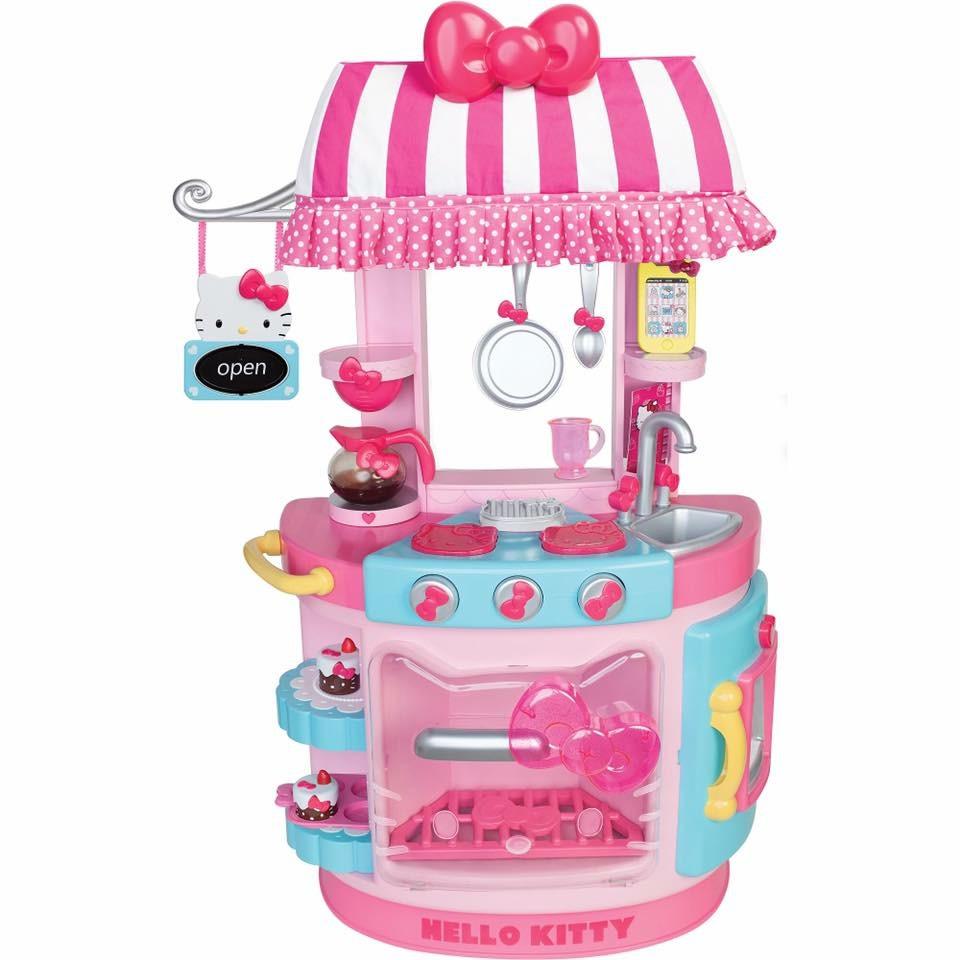 ชุดครัวจำลองสุดน่ารัก Hello Kitty Kitchen Café Set
