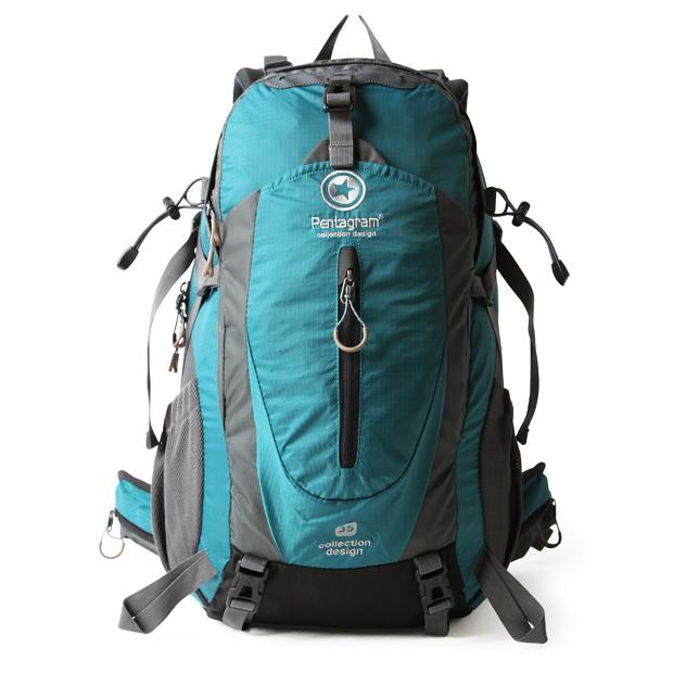 NL22 กระเป๋าเดินทาง Pentagram สีเขียวหัวเป็ดขนาดจุสัมภาระ 50 ลิตร (เสริมโครง)