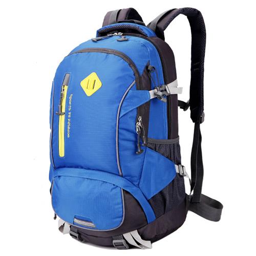 NL19 กระเป๋าเดินทาง สีน้ำเงิน ขนาดจุสัมภาระ 40 ลิตร