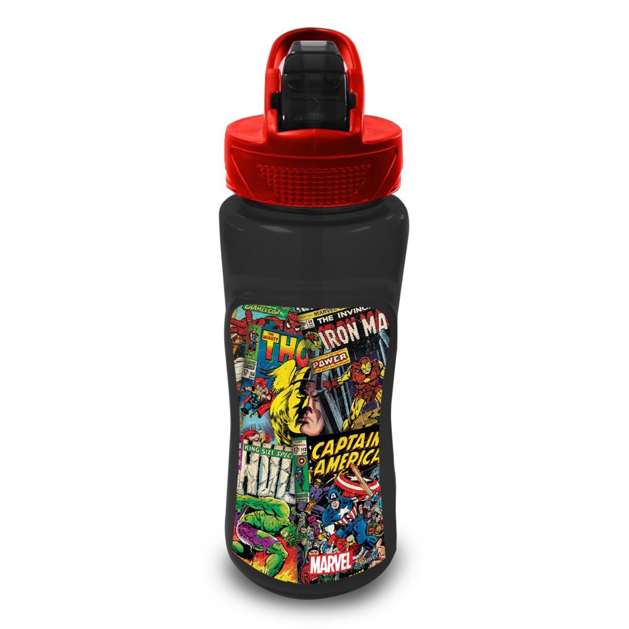 กระติกน้ำแบบหลอดดื่มสำหรับเด็ก Cool Gear Drink Bottle (Marvel Comics)