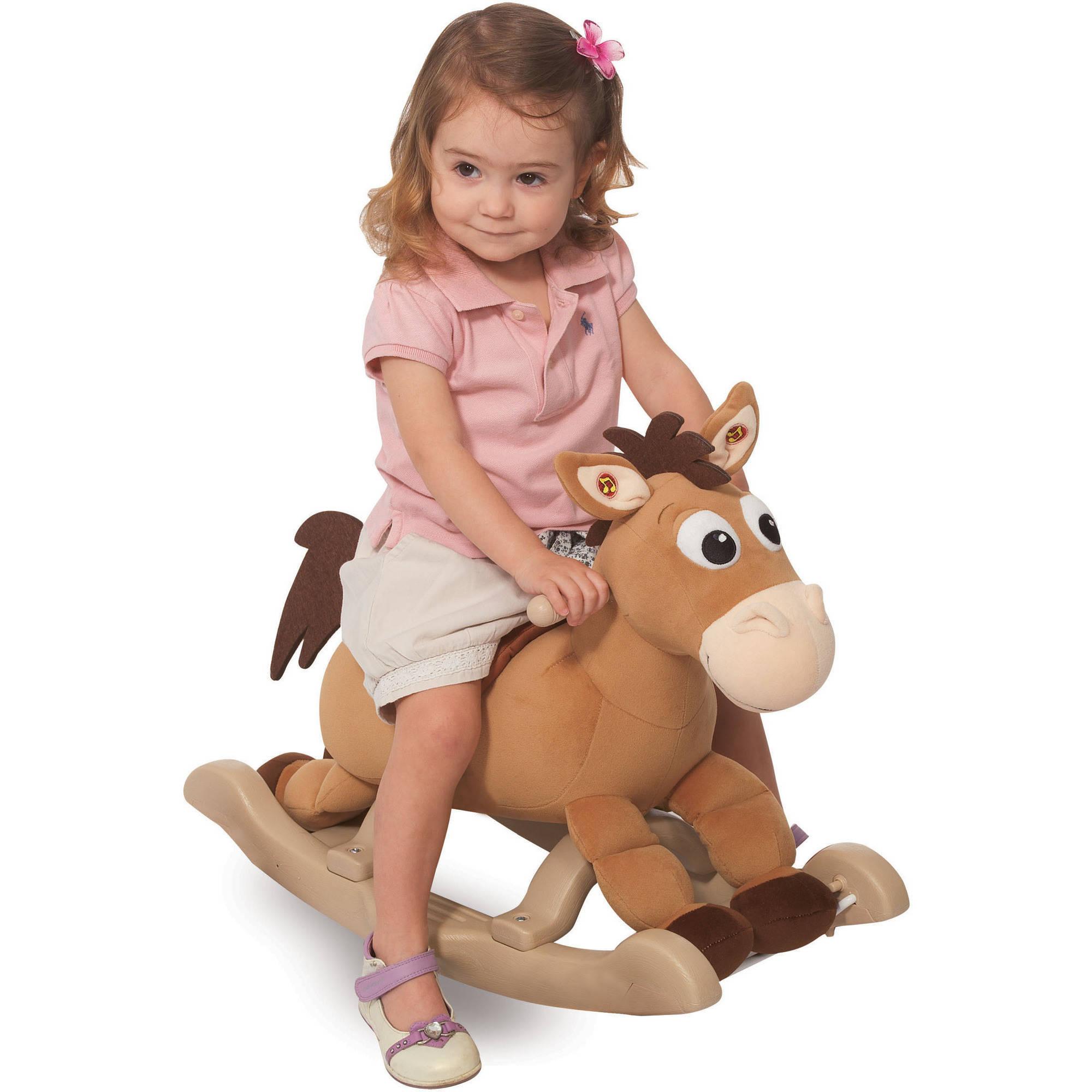 ม้าโยกแสนน่ารักสุดคลาสสิค Kiddieland My Rocking Pony (Toy Story's Bullseye)