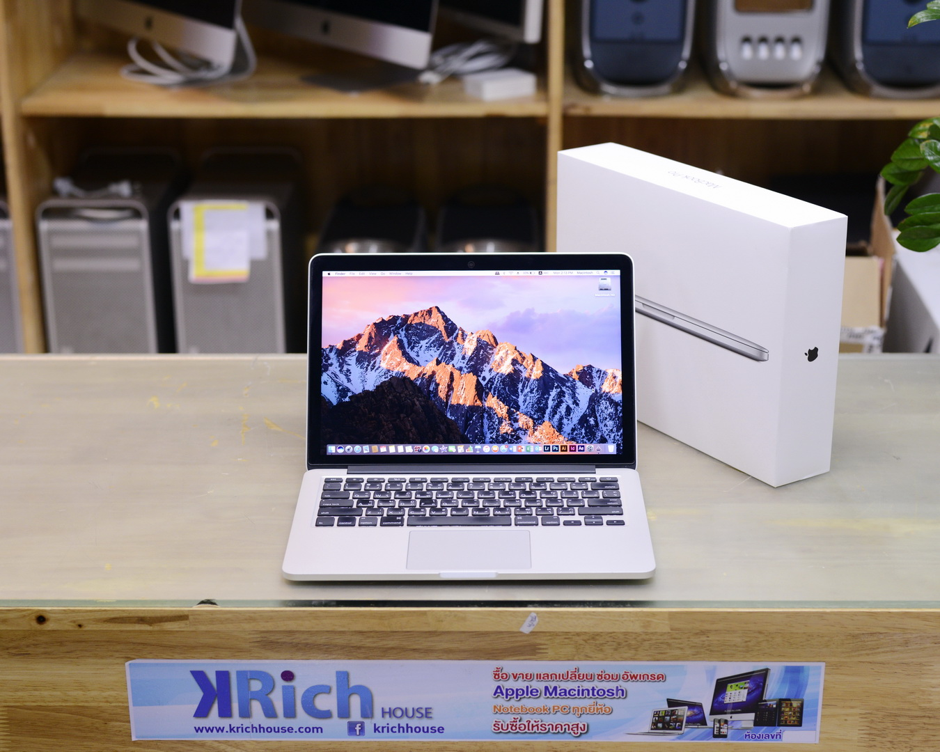 MacBook Pro (Retina 13-inch Early 2015) Core i5 2.7GHz RAM 8GB SSD 256GB - FullBox