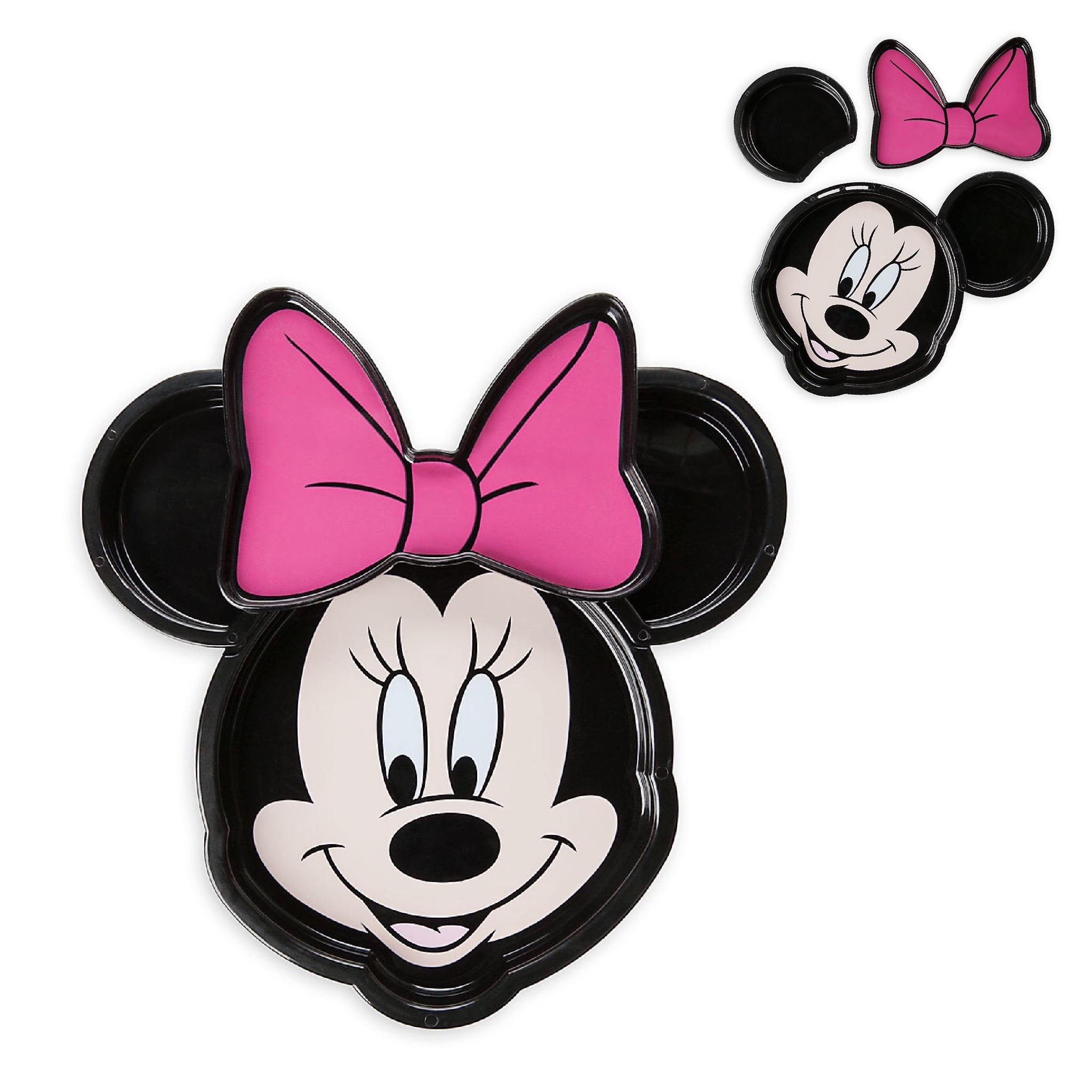 จานอาหารมินนี่เม้าส์ Disney Meal Time Magic Collection (Minnie Mouse)