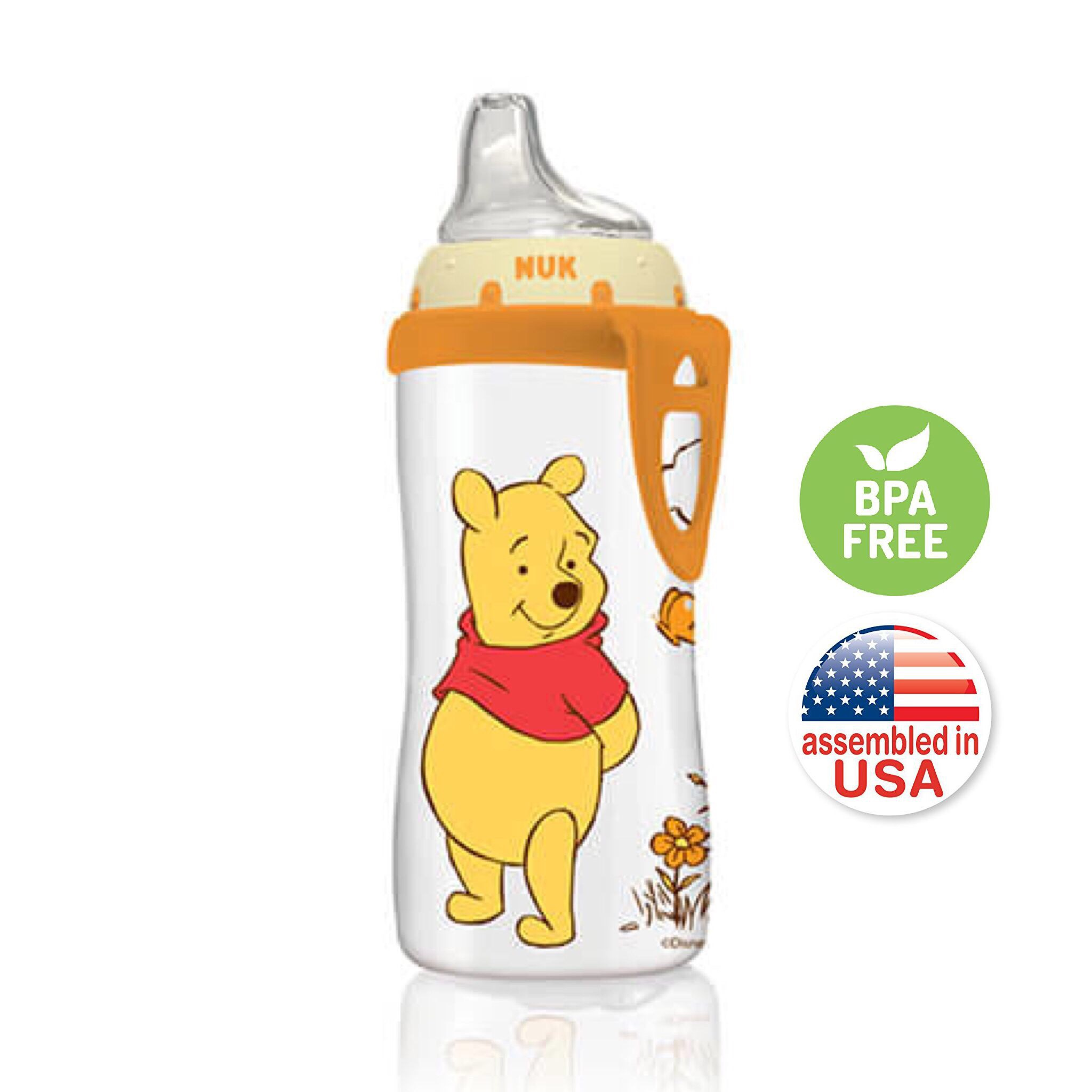 ถ้วยหัดดื่มปลอดสารพิษ Nuk 10-Oz Active Cup (Winnie the Pooh)