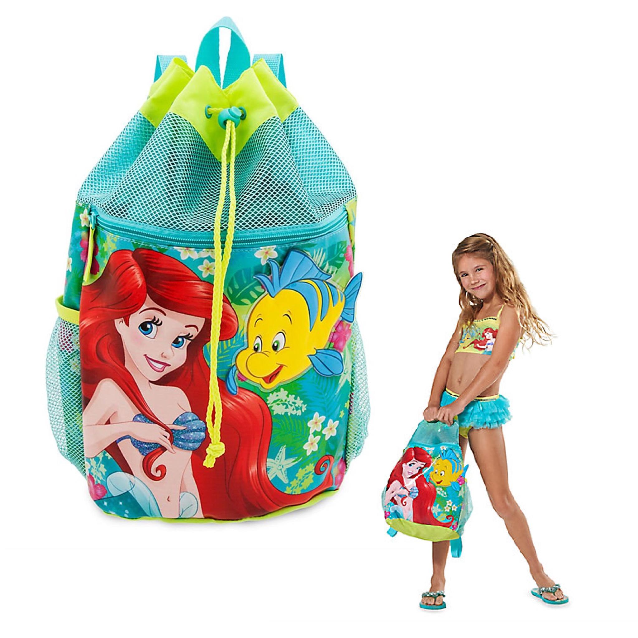 กระเป๋าสะพายเป้กันน้ำ Disney Ariel Swim Backpack