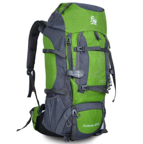 DF03 กระเป๋าเดินทาง สีเขียว ขนาดจุสัมภาระ 80+5 ลิตร