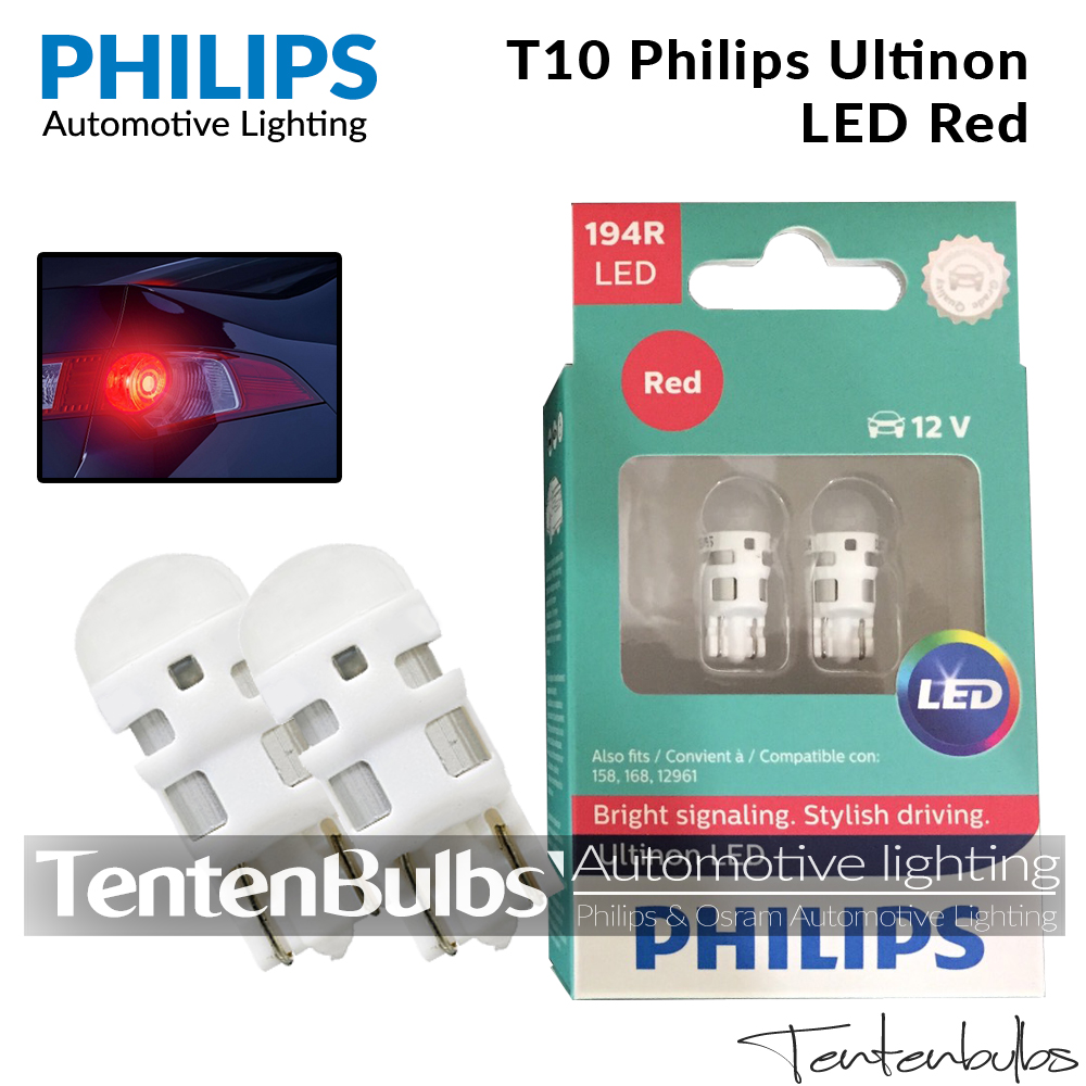 T10 Philips Ultinon Red LED