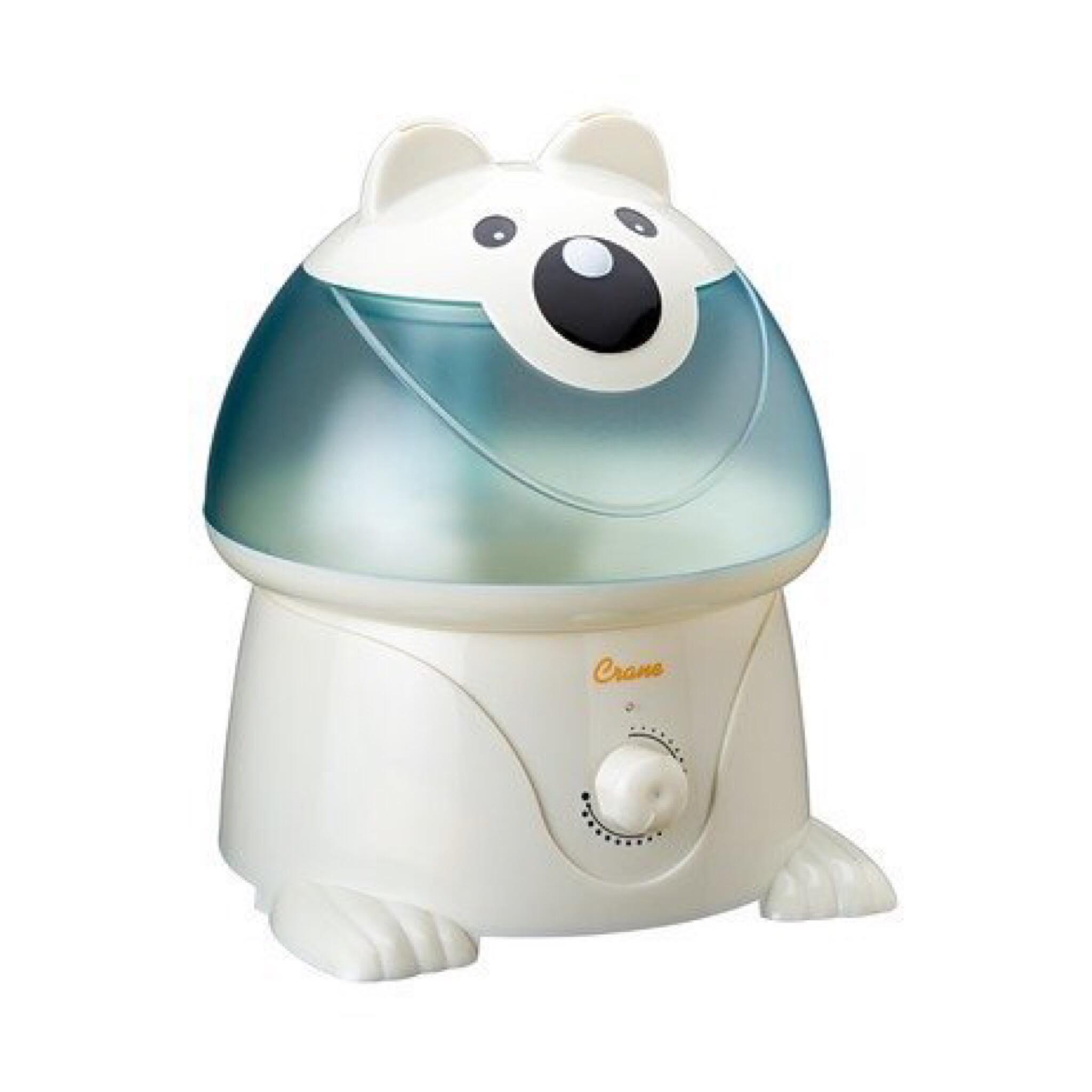 เครื่องสร้างความชื้นในอากาศ Crane USA รุ่น Adorable Ultrasonic Cool Mist Humidifier (Chauncey the Polar Bear)