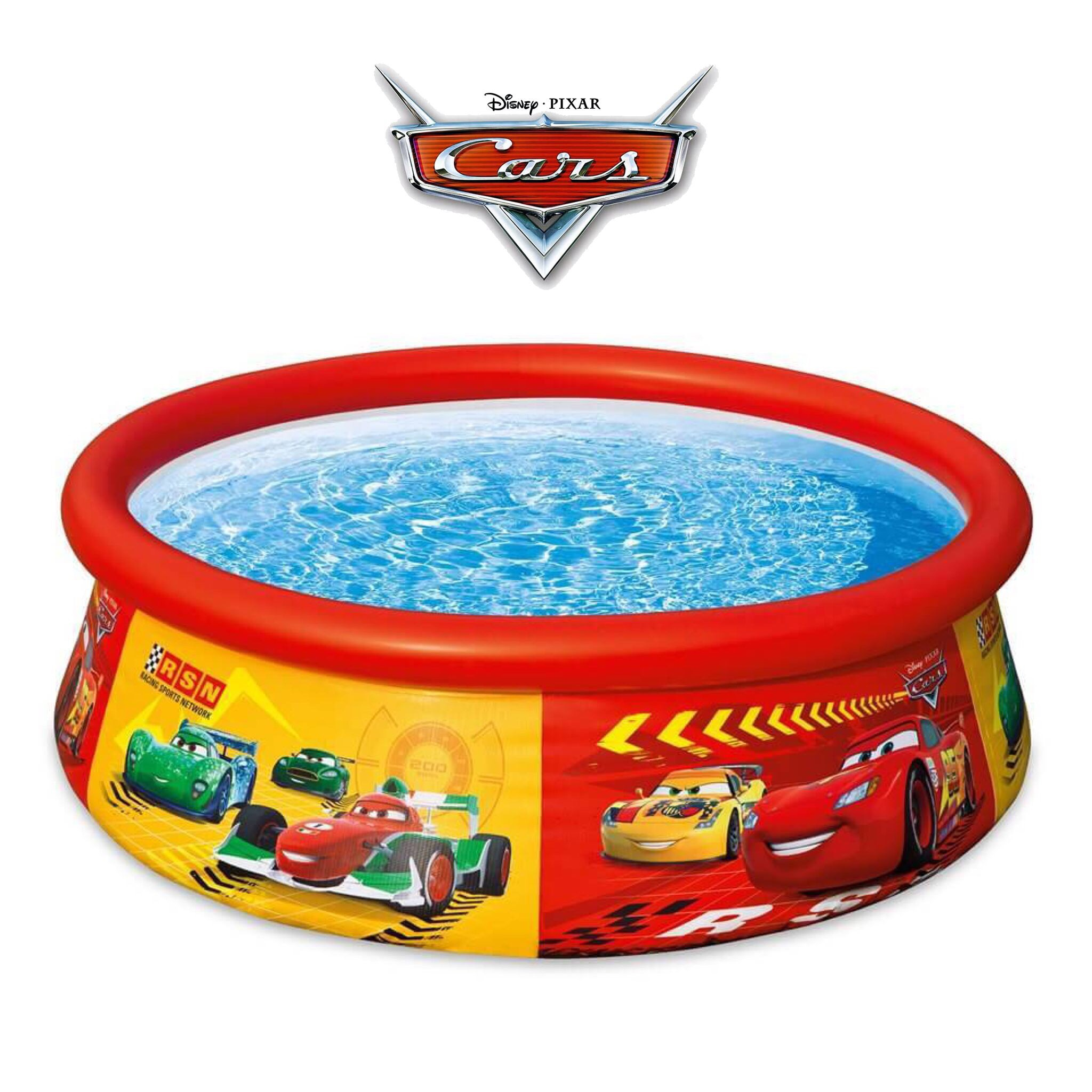 สระน้ำเป่าลมสำหรับเด็ก Intex Disney Cars Easy Set Pool