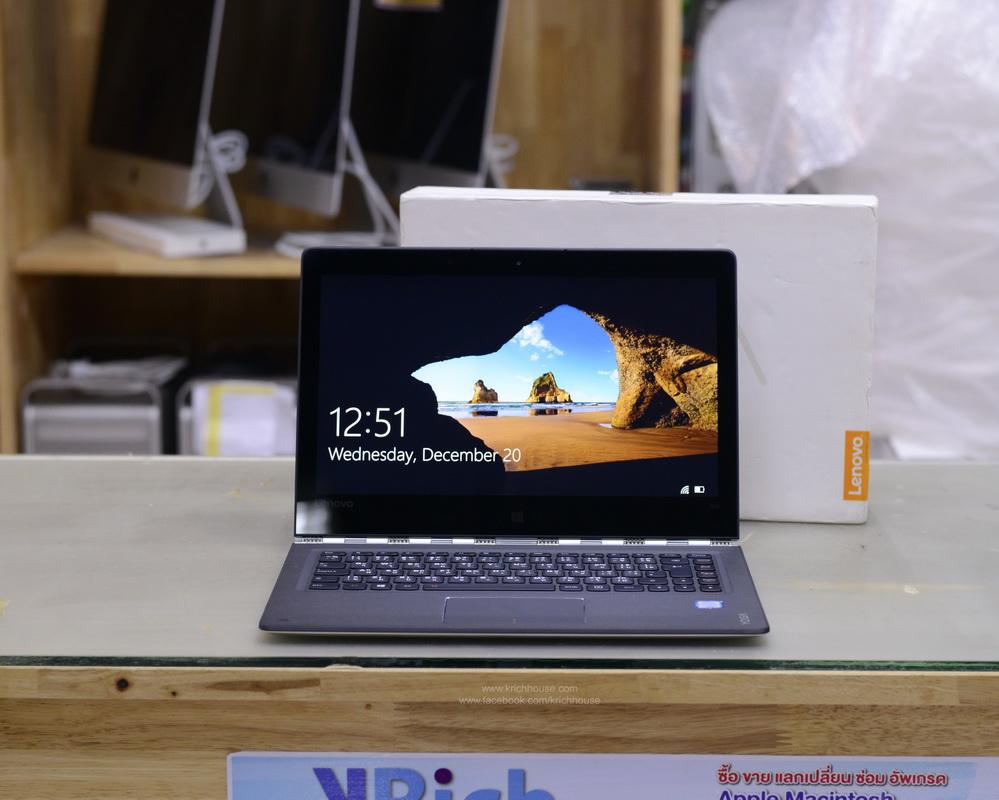 2-in-1 Notebook Lenovo IdeaPad Yoga 900-13ISK Core i7-6500U 2.5GHz RAM 16GB SSD 512GB 13-inch QHD+ IPS TouchScreen FullBox