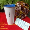 Starbucks TOGO Stainless steel ฝาฟ้าสวยใบขาวโลโก้คำว่าStarbucksจากยุโรป เรียบง่ายใช้ได้นาน เก็บได้ทั้งร้อนและเย็นเพราะเป็นสแตนเลส น้ำหนักเบา ล้างทำความสะอาดง่าย พกพาง่าย ราคาเพียง 1,590บาทค่ะ