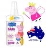 สเปรย์กันแดดสำหรับลูกน้อย Cancer Council รุ่น Peppa Pig Kids Finger Spray Sunscreen SPF50+ (บรรจุ 200 ml.)