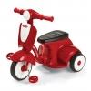 รถจักรยานสามล้อทรงเวสป้า Radio Flyer Classic Lights & Sounds Trike (Red)