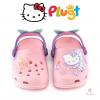 รองเท้าแสนหวานสำหรับลูกสาว Babuche Plugt Kids Hello Kitty