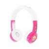 หูฟังควบคุมระดับเสียงสำหรับเด็ก BuddyPhones Volume-Limiting Headphones for Kids - InFlight (Pink)