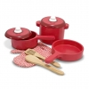 ชุดอุปกรณ์ทำครัวสำหรับเด็ก Melissa & Doug Play Kitchen Accessory Set - Pot & Pans