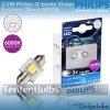 Philips X-treme Vision Festoon LED 30mm 6000K ส่งฟรี