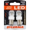 P21/5W Sylvania ZEVO Super Bright LED RED ส่งฟรี EMS
