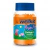 วิตามินเสริมแร่ธาตุโอเมก้า 3 ชนิดกัมมี่สำหรับเด็ก Vitabioics Wellkid Peppa Pig Omega-3 Flaxseed Oil