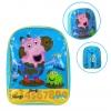 กระเป๋าเป้สะพายหลังสำหรับเด็ก Peppa Pig George Pig Jump, Jump, Jump Basic Backpack for Kids