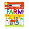 หนังสือพร้อมปากกาฝึกเขียนสำหรับเด็กเล็ก Wipe Clean Activity - FARM