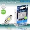Philips X-treme Vision Festoon LED 30mm 4000K ส่งฟรี