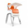 เก้าอี้รับประทานอาหารทรงสูงสุดหรู Nuna ZAAZ High Chair (Orange)