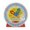 นาฬิกาไม้ปลอดสารพิษเสริมทักษะ Melissa & Doug Turn & Tell Clock