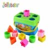 กล่องหยอดบล็อค Jolly Baby Lovely Baby's First Blocks (Blue)
